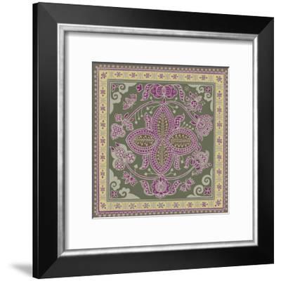 Sojourn Tile I-Paula Scaletta-Framed Giclee Print