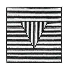 Triangle, c.1980 by Sol Lewitt