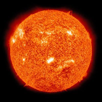 Solar Activity on the Sun-Stocktrek Images-Photographic Print