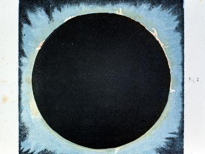 Solar Corona and Prominences 1860--Giclee Print
