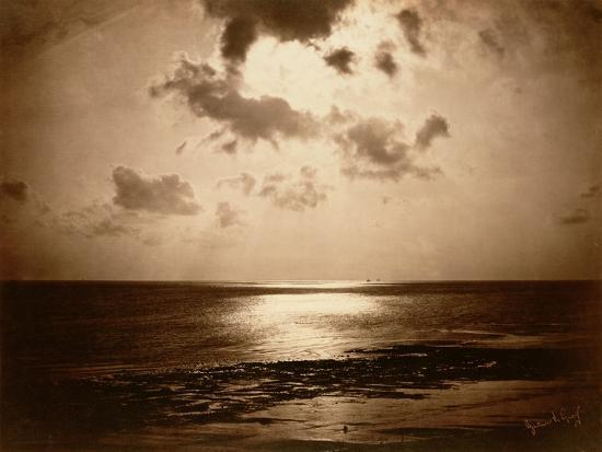 Solar Effect - Ocean, 1857-Gustave Le Gray-Giclee Print