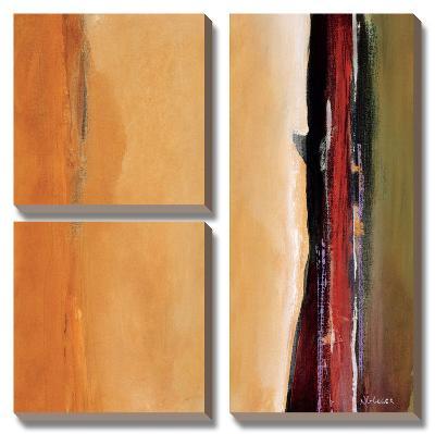 Solar Emission II-Noah Li-Leger-Canvas Art Set