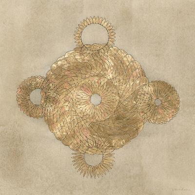 Solar Medallion II-Vanna Lam-Art Print