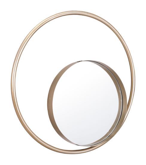 Solar Mirror Champagne--Wall Mirror