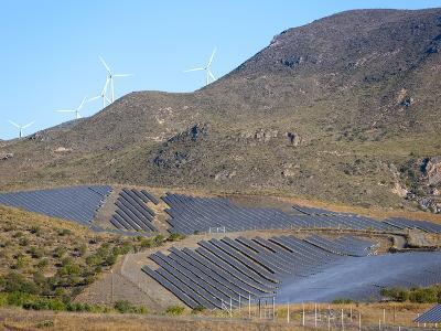 Solar Plant, Lucainena De Las Torres, Almeria, Andalucia, Spain, Europe-Marco Cristofori-Photographic Print