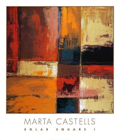 Solar Square I-Marta Castells-Art Print