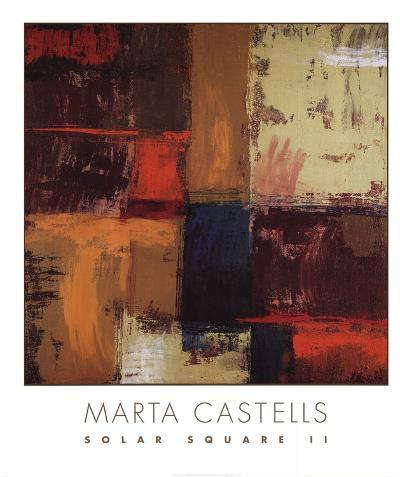 Solar Square II-Marta Castells-Art Print