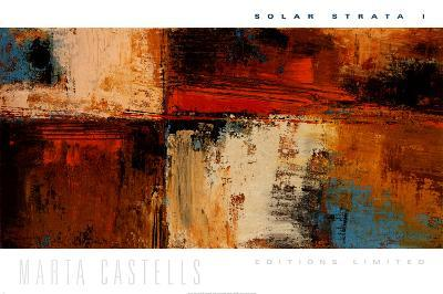 Solar Strata I-Marta Castells-Art Print