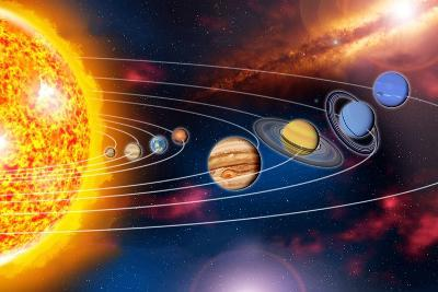 Solar System Planets-Jose Antonio-Photographic Print