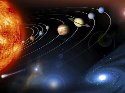 Solar System Planets--Photographic Print