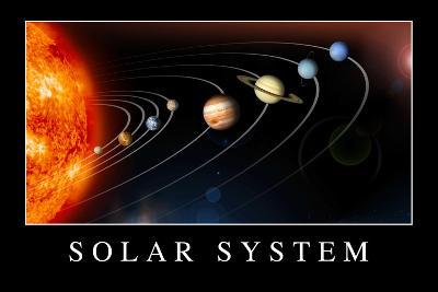 Solar System Poste--Art Print