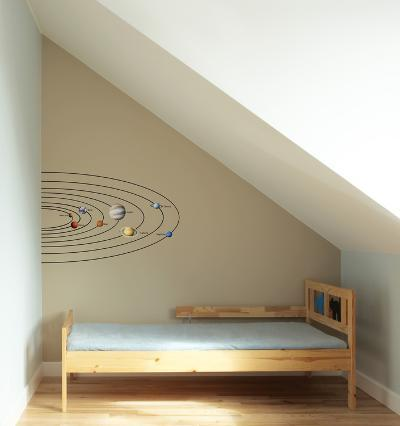 Solar System Wall Decal--Wall Decal