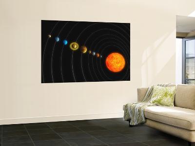 Solar System--Wall Mural