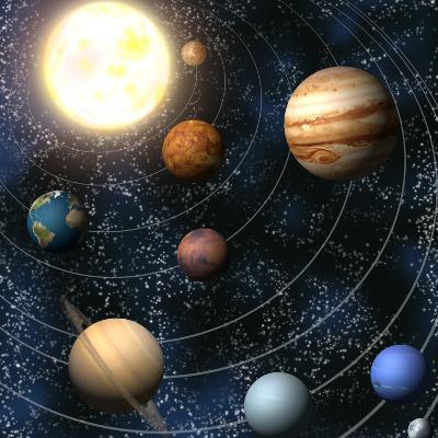 Solar System-Christos Georghiou-Photographic Print