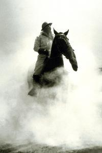Soldier and Horse Wearing a Gas Mask During the Battle of Verdun, 1916