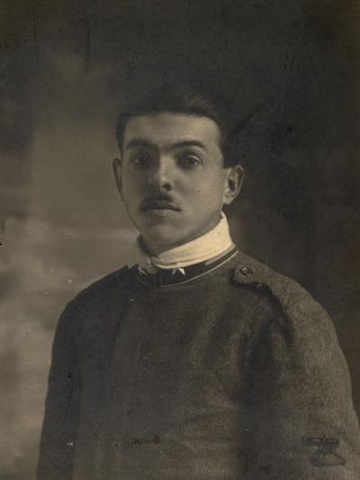 Soldier Gunner--Photographic Print