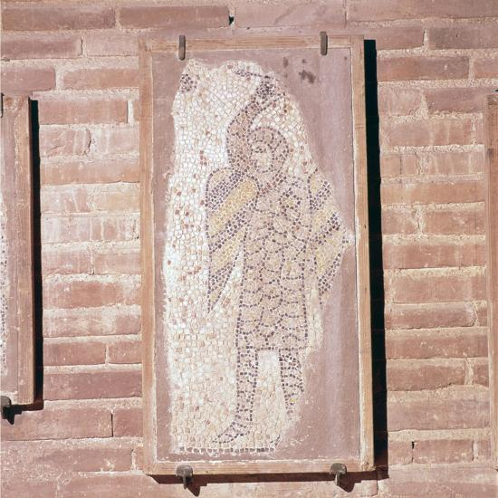 Soldier of the 4th Crusade, Mosaic in church of San Giovanni Evangelista, 13th century-Unknown-Giclee Print