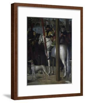 Soldier on Horseback-Michelle da Verona-Framed Giclee Print