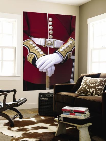 Soldier's Uniform, London, England-Rex Butcher-Wall Mural