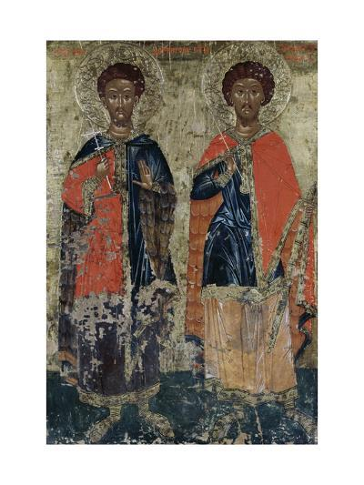 Soldier St. Theodore of Amasea and General St. Theodore--Giclee Print