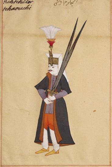 Soldier with Two-Edged Mythical Sword of Allah--Giclee Print