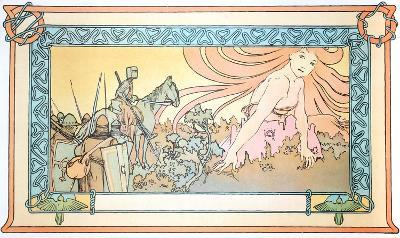 Soldiers Dream-Alphonse Mucha-Collectable Print