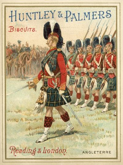 Soldiers of a Highland Regiment on Parade--Giclee Print
