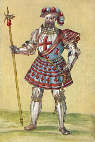 'Soldiers of the Tudor Period', c16th century, (1903)-Unknown-Giclee Print