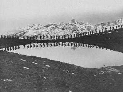 Soldiers Pass Mountain Lake--Photographic Print