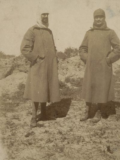 Soldiers with Coat--Photographic Print
