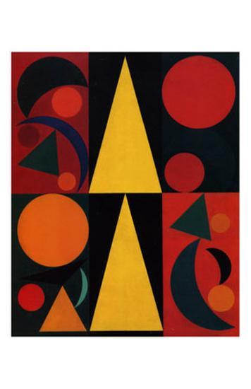 Soleil, c.1947-Auguste Herbin-Art Print