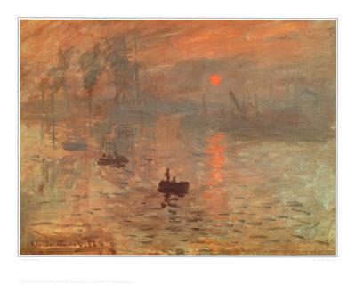 Soleil Levant-Claude Monet-Art Print