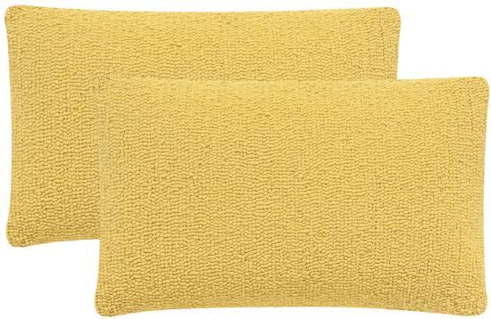 Soleil Solid Pillow Pair - Sunshine Yellow--Home Accessories