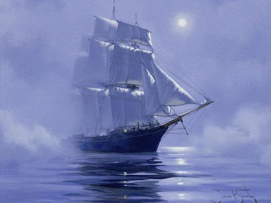 Solent'- Out of the Nightmist, 2009--Giclee Print