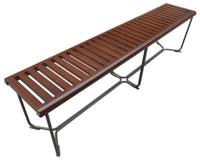 """Solid Bench 72"""" - Brown"""