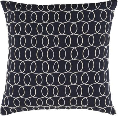 Solid Bold II Down Fill Pillow by Bobby Berk - Black