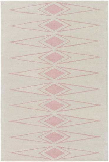Solid Bold Pink Diamond Area Rug by Bobby Berk - 2' x 3'--Home Accessories