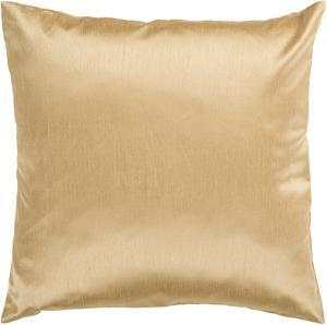 Solid Luxe Down Fill Pillow - Gold