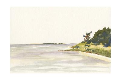 Solitary Coastline I-Dianne Miller-Art Print