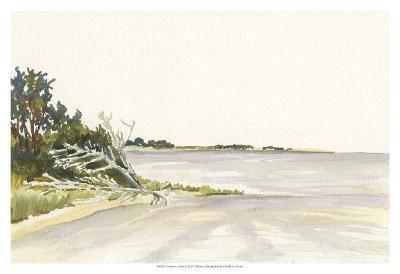 Solitary Coastline II-Dianne Miller-Art Print