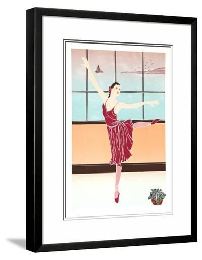 Solitary Dancer-Gina Lombardi Bratter-Limited Edition Framed Print