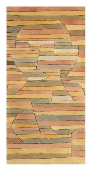 Solitary-Paul Klee-Giclee Print