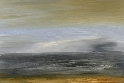 Solitude Sea I-Sharon Gordon-Premium Giclee Print