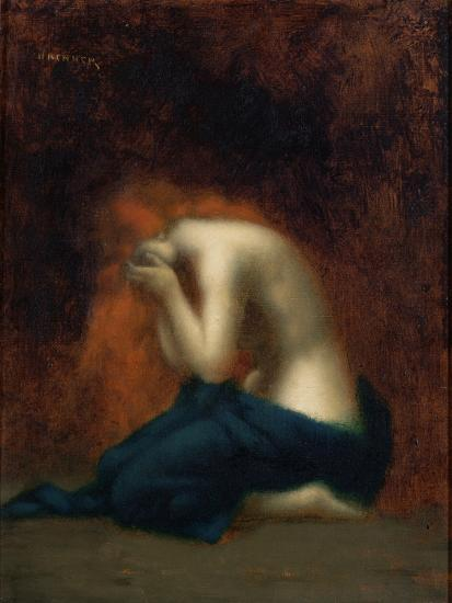 Solitude-Jean-Jacques Henner-Giclee Print