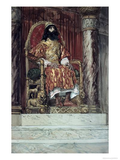 Solomon is Made King-James Tissot-Giclee Print