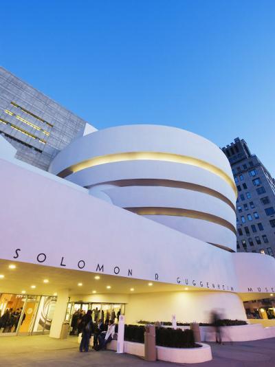 Solomon R. Guggenheim Museum, Built in 1959, Designed by Frank Lloyd Wright, Manhattan-Christian Kober-Photographic Print