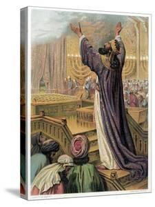 Solomon's Prayer at the Consecration of the Temple, C1870