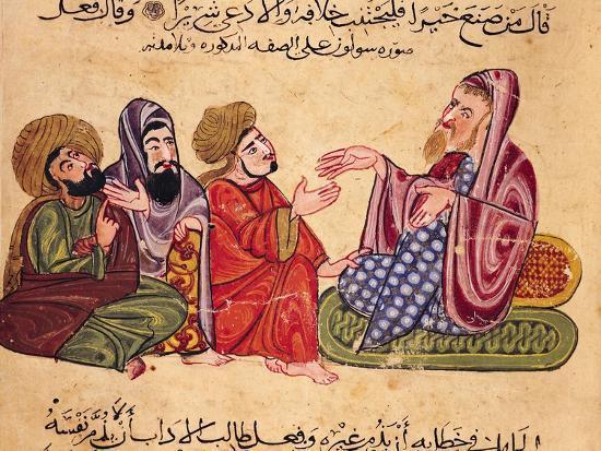 Solon (638-559 BC) Teaching--Giclee Print