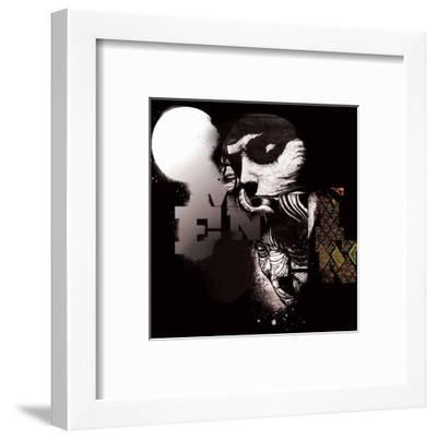 SoLow-Omen-Framed Art Print