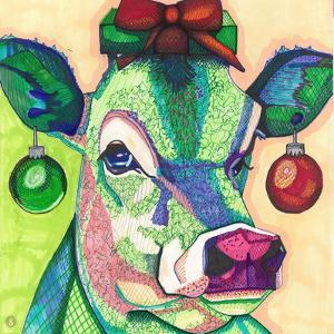 Christmas Cow by Solveig Studio